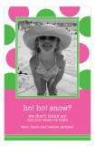 Playful Polka Dot Photo Card