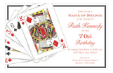 Playing Cards Invitation