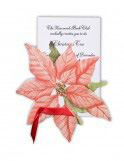 Poinsettia Invitations