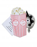 Popcorn and a Movie Invitations