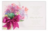 Posey Pinks Invitation