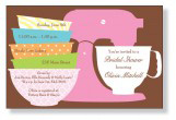 Preppy Mixer Invitation