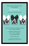 Pretty Damask Presents Invitation