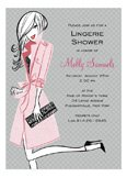 Pretty Pink Party Invitation