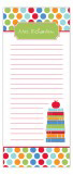 Primary School Stack Skinny Notepad