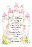 Princess Castle Die-cut Invitation