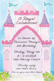 Princess Castle Invitation