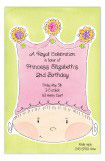 Princess Crown Invitation