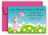 Princess Meadows Invitation