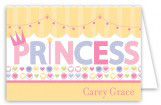 Princess Party Folded Note Card