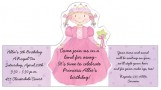 Princess Stand Ups Invitation