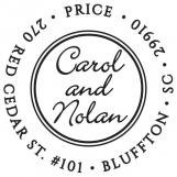 Carol Personalized Stamp