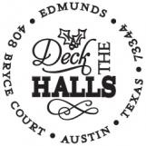 Deck the Halls Personalized Stamp