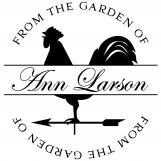 Garden Personalized Stamp