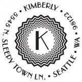 Kimberly Personalized Stamp