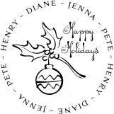 Ornament Personalized Stamp