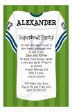 Football Jersey Invitation