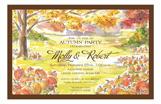 Pumpkin Field  Invitation