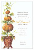 Pumpkin Trio Invitation