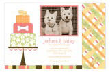 Puppy Love Cake Photo Card