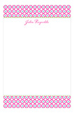 Quatrefoil Notepad