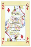 Queen of Diamonds Invitation