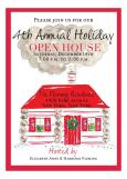Red House Holiday Invitation