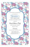 Elephant Border Invitation