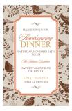 Pheasants Fall Invitation