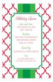 Red and Green Simple Pattern Invitation