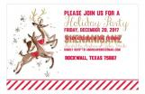 Reindeer Holiday Party Invite