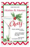 Cheers Martini Cocktail Invitation