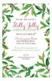 Ticket Holly Holiday Party Invite