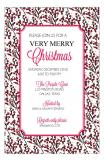 Holiday Berries Invitation
