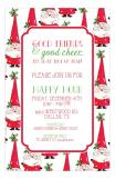 Double Rounded Santa Invite