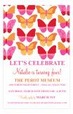 Butterflies Invitation