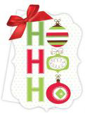 Ho Ho Ho Die-Cut Tie-Up Invitation