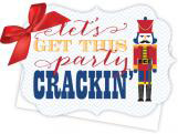 Get This Party Crackin Die-Cut Tie-Up Invitation