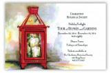 Red Lantern Invitation