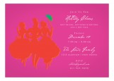 Red Savvy Party Invitation
