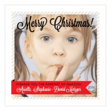 Red Sweetest Holiday Photo Card