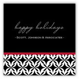 Red Warm Welcome Gift Tag