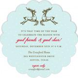 Reindeer Cheer Invitation