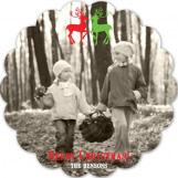 Reindeer Love Photo Card