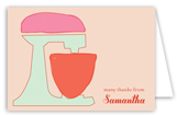 Retro Housewife Note Card