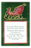 Ruby Sleigh Invitation