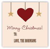 Rustic Christmas Gift Tag