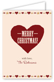 Rustic Christmas Greeting Card