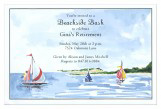 Beachside Bash Sailing Invitations