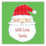 Santa Says Square Sticker